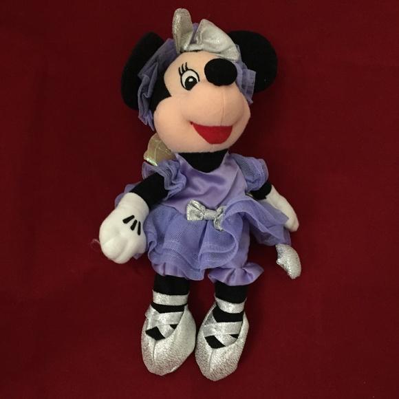 "Disney Minnie Mouse Sugar Plum Minnie Fairy 7"""